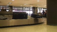 Jm584-Luggage Claim Stock Footage