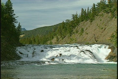 Bow Falls, Banff, #3 Stock Footage