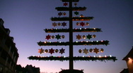 Germany Nuremberg Advent Christmas fair Stock Footage