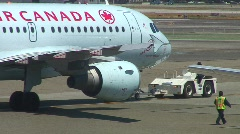 jm598-Air Canada - stock footage