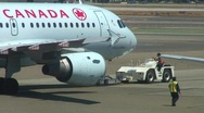 Stock Video Footage of jm598-Air Canada