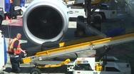 Jm605-Luggage Unload3 Stock Footage