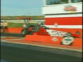 Stock Video Footage of motorsports, Drag racing, Top Alcohol rail launch