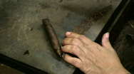 Stock Video Footage of Cigar Touch-up