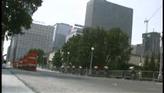 2008 Chicago Criterium Bike Race 003 Stock Footage