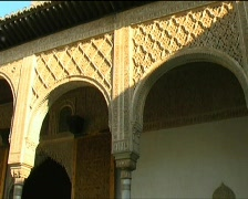 Alhambra architecture Stock Footage