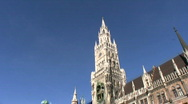 Stock Video Footage of Germany Munich New Town Hall