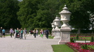 Germany Munich Nymphenburg castle Stock Footage