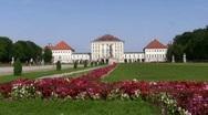 Germany Munich Nymphenburg castle Stock Footage