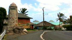 Road through Lanakai Stock Footage