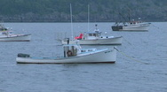 Stock Video Footage of Lobster Boats Harbor