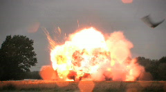 Car Explosion, HD Stock Footage
