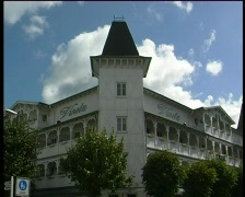 Ruegen Seaside Resort Stock Footage