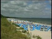 Stock Video Footage of Ruegen Seaside Resort