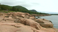 Acadia Cliffs Stock Footage