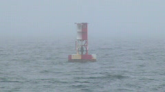 Buoy Zoom Out Stock Footage