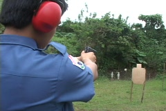 Target Shooting Stock Footage