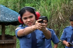 Female police Stock Footage
