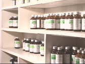 Medicine in Pharmacuitical Shelf Stock Footage