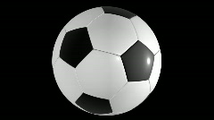 Db soccer ball 05 hd1080 Stock Footage