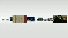 Energy multipanel Stock Footage