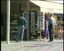 News stand Stock Footage