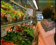Supermarket - stock footage