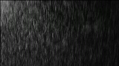 Real Rain Loop Stock Footage