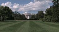 Zoom in on the White House Stock Footage