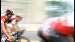 2008 Chicago Criterium Bike Race 015 Stock Footage