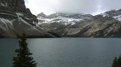Hector Lake Icefield Parkway Stock Footage