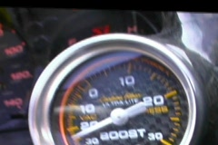 Boost Turbo Gauge Instrument Stock Footage