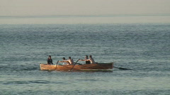 Canoeing 2 Stock Footage