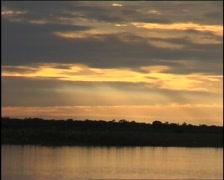 Corroboree Billabong Sunset - 04 Stock Footage