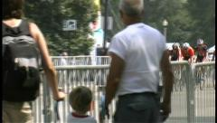2008 Chicago Criterium Bike Race 011 Stock Footage