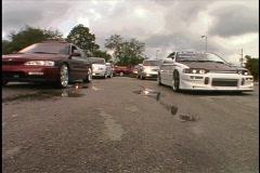 Ready for a Race Street Car Racers Custom Cars  Stock Footage