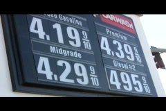 Stock Video Footage of Expensive Fuel