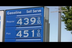 High Price at the Pump Stock Footage