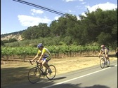 CYCLISTS Stock Footage