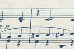 Sheet music 1 Stock Footage