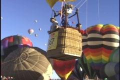 Balloon Launch Stock Footage