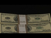Stock Video Footage of Money Stacks