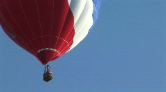 hot air balloon - stock footage