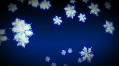 Snowflakes Falling  Stock Footage
