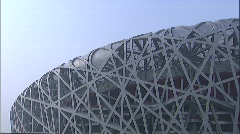 Beijing Olympic Stadium - stock footage