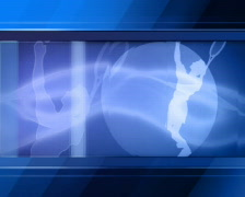 Sport News Background Stock Footage