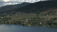 Stock Video Footage of N End Kalamalka Lake vernon
