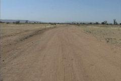 Sand track Mali Africa Stock Footage