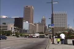 Skyline Baltimore MD - stock footage