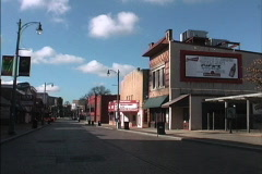 Beal St Memphis TN Stock Footage